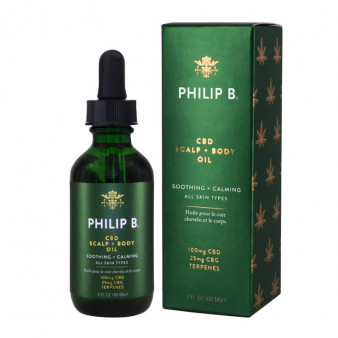 CBD Scalp and Body Oil - PHB.83.025