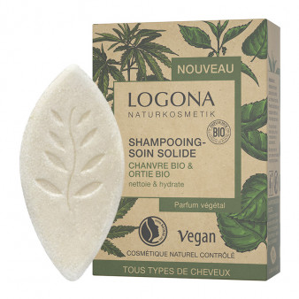 Shampooing Soin Solide Chanvre Ortie Bio - LOG.82.020