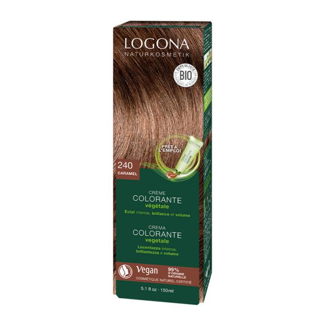 Soin Colorant Végétal Bio en Crème - Caramel - LOG.88.013