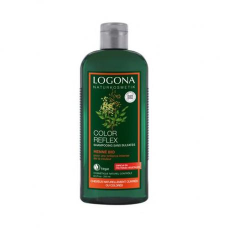 Shampooing Bio Reflets au Henné - LOG.82.002