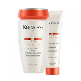 Soin Complet Nutritive Cheveux légèrement secs - KER.LOT.108