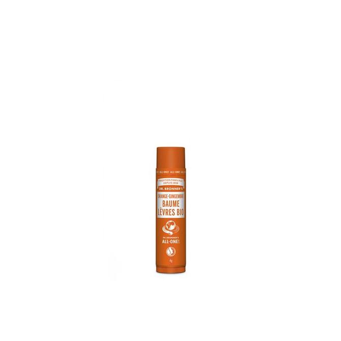 Baume à Lèvres Bio Orange-Gingembre - DBR.41.001