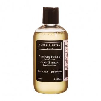 Shampoing Kératine Cheveux Lisses - SER.82.008